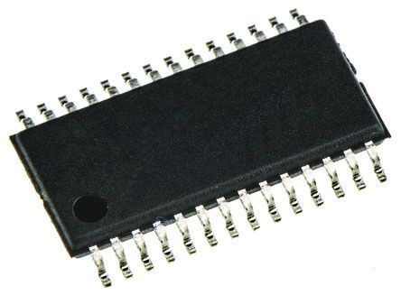 Texas Instruments TPS767D318PWP, Dual LDO Regulator, 1A, 1.8 V, 3.3 V, ±2% 28-Pin, HTSSOP