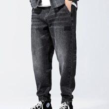 Mom Jeans mit Riss