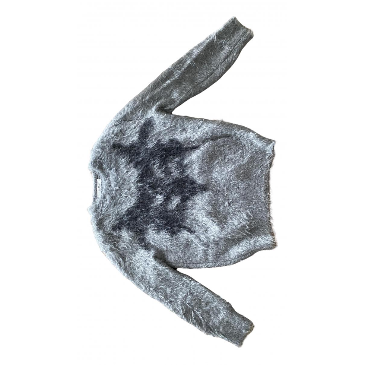Dior - Pull   pour femme en laine - gris