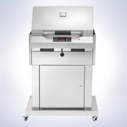 4400EC448CBS32 Ruby 32 Closed Base Grill With Single Temperature Control  448 sq. inches of Grilling Surface  18 Gauge Stainless Steel  Digital