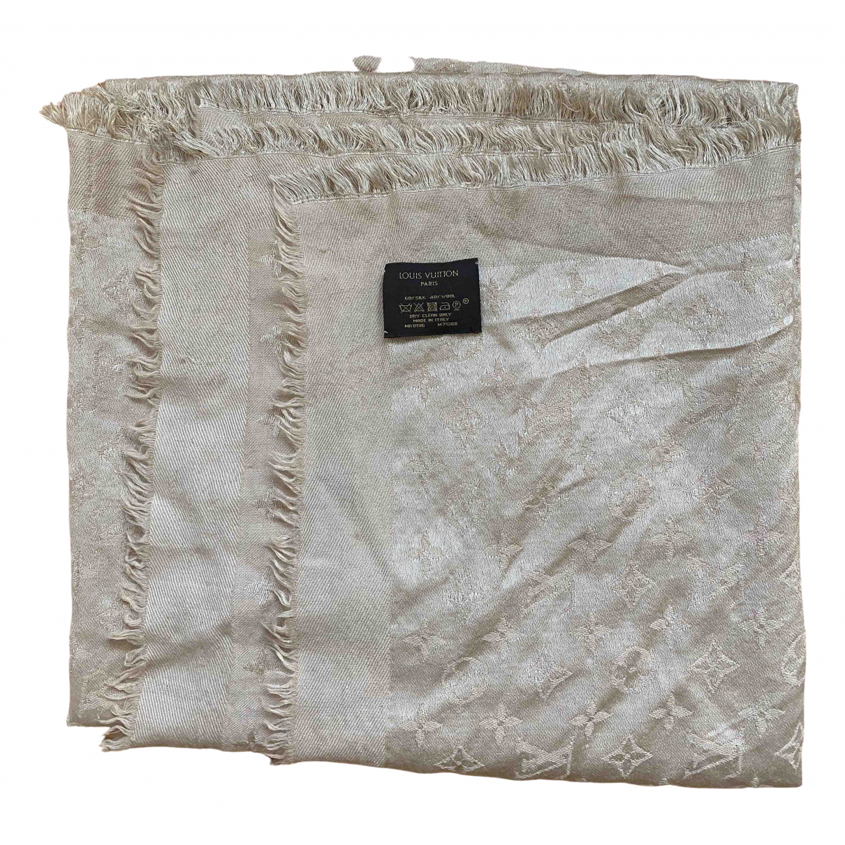Louis Vuitton - Foulard Chale Monogram pour femme en laine