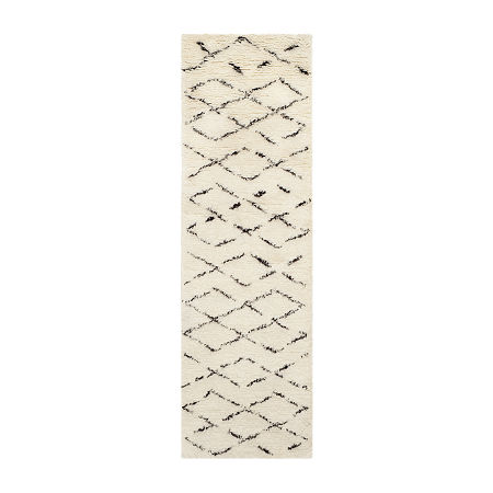 Safavieh Casablanca Collection Alayna Geometric Runner Rug, One Size , Multiple Colors