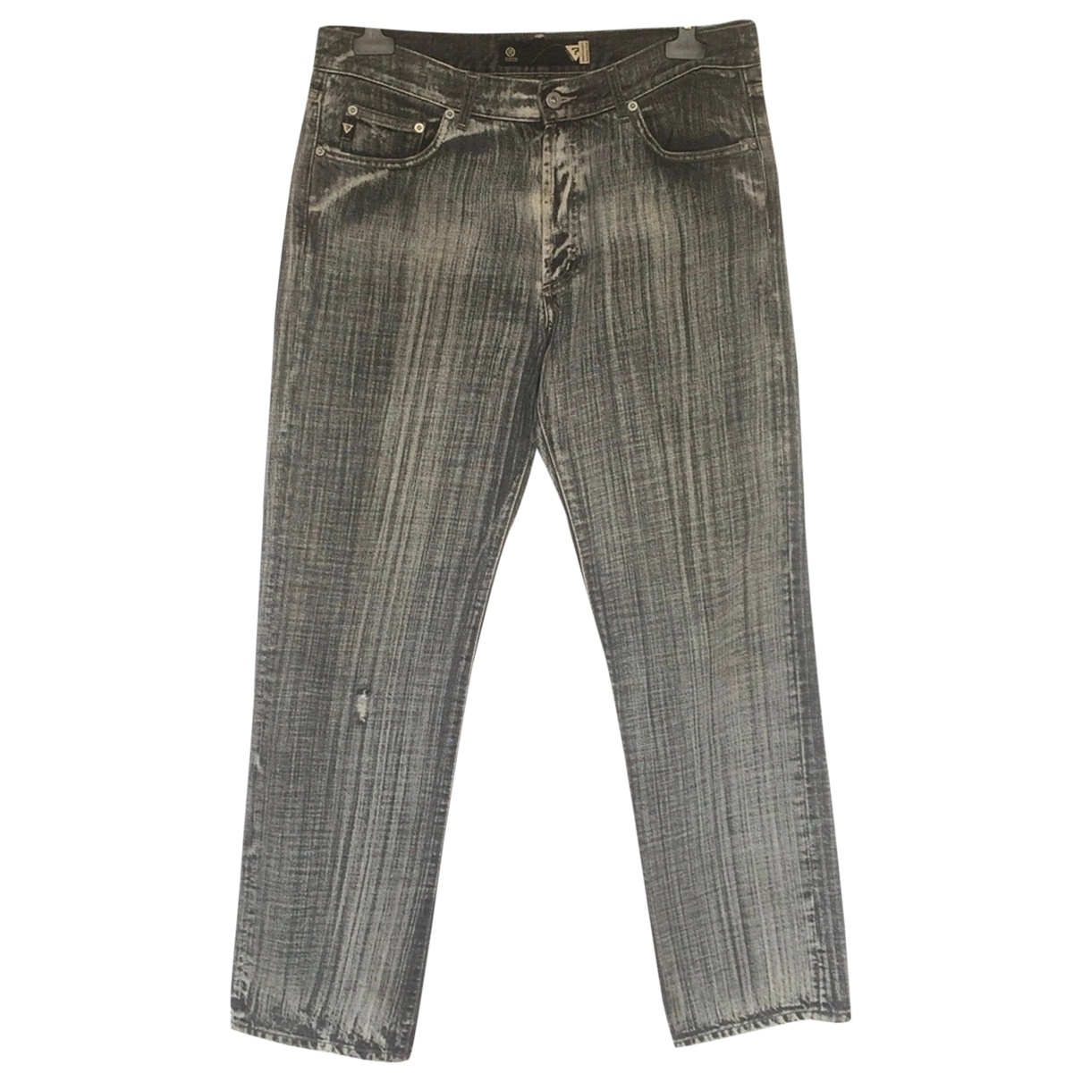 Guess \N Grey Cotton Jeans for Men 36 US