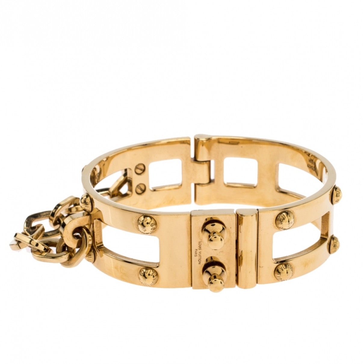 Louis Vuitton \N Gold Metal bracelet for Women \N