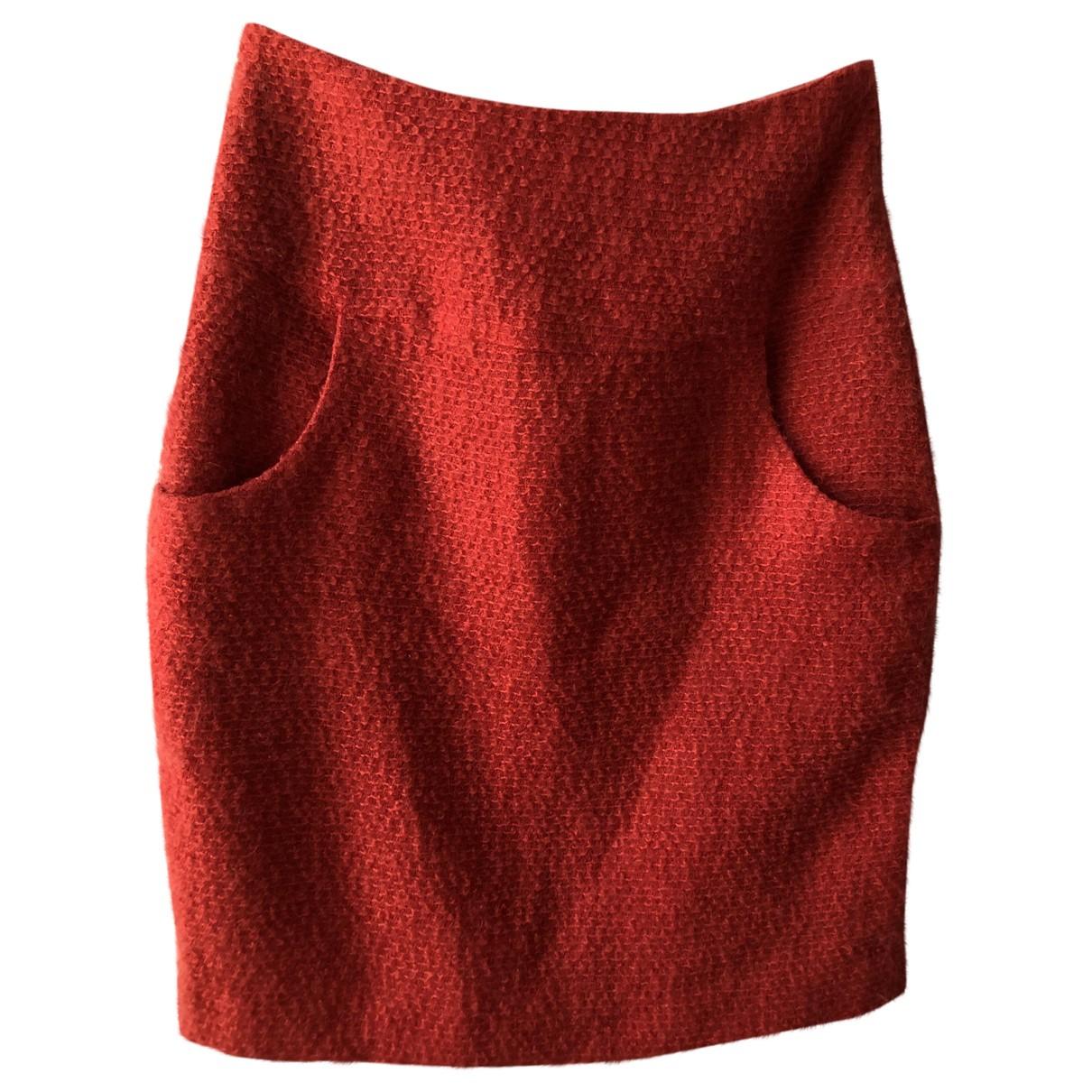 Matthew Williamson \N Rocke in  Rot Wolle