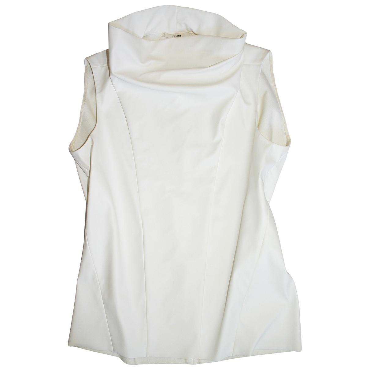 Celine \N White  top for Women 36 FR