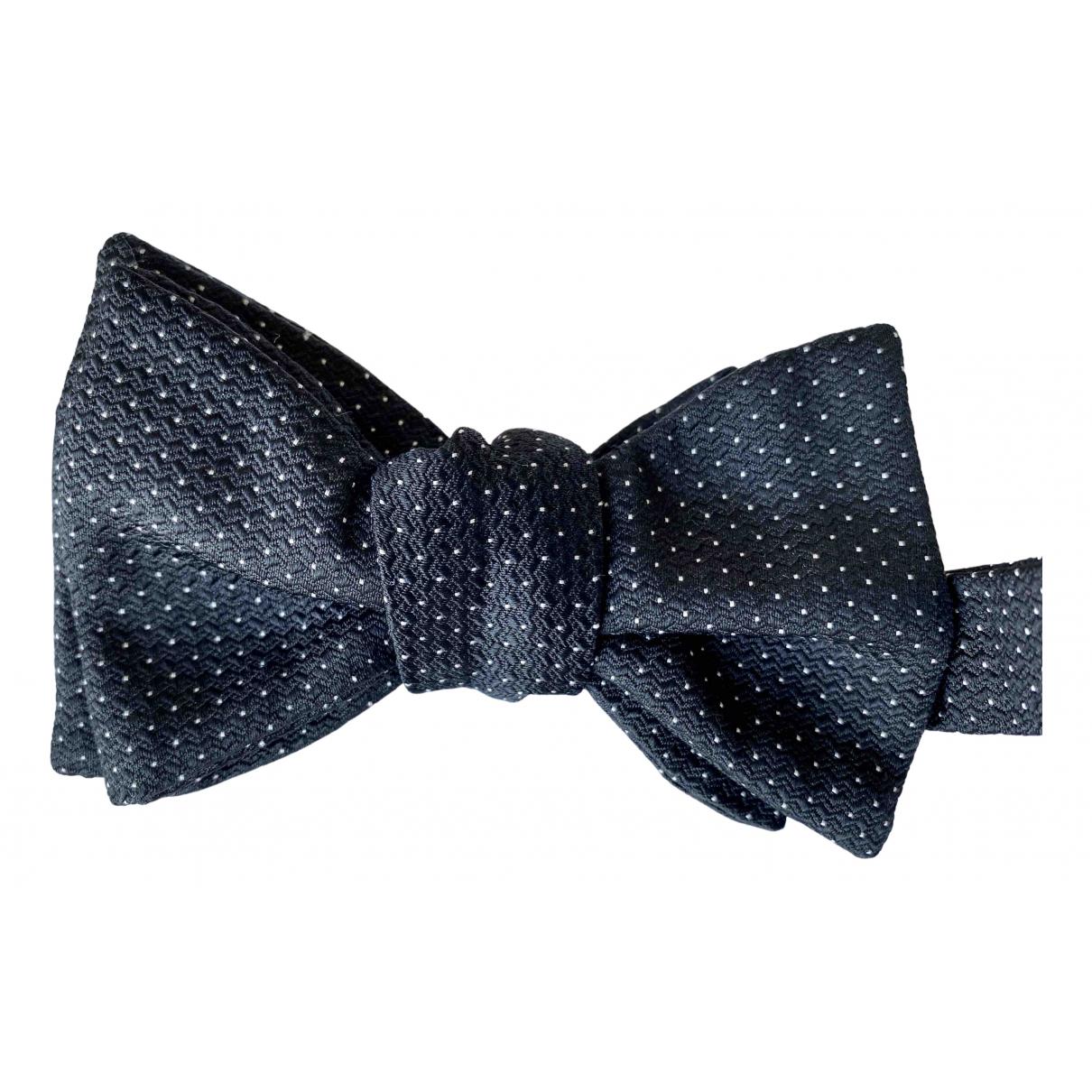 Bottega Veneta \N Black Silk Ties for Men \N