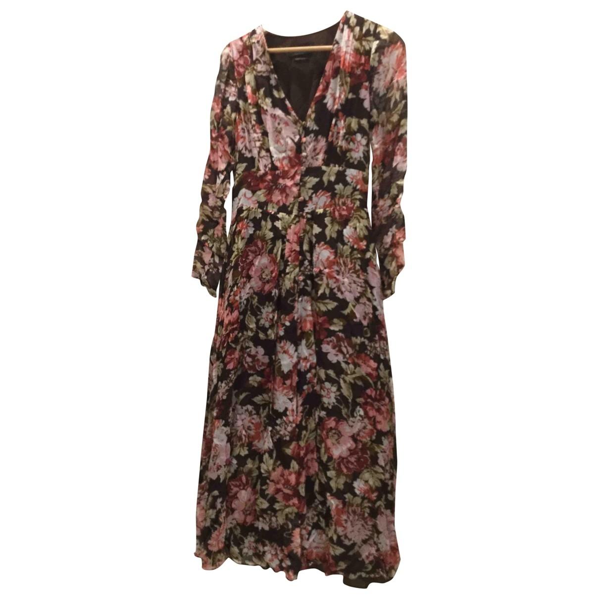 Massimo Dutti \N Kleid in  Bunt Viskose