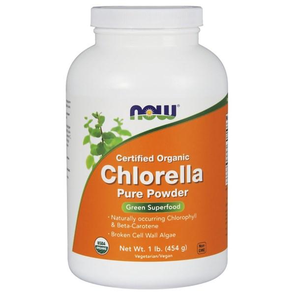 Chlorella Powder 1 Lb by Now Foods