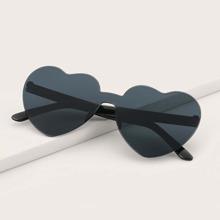 Guys Heart Rimless Sunglasses
