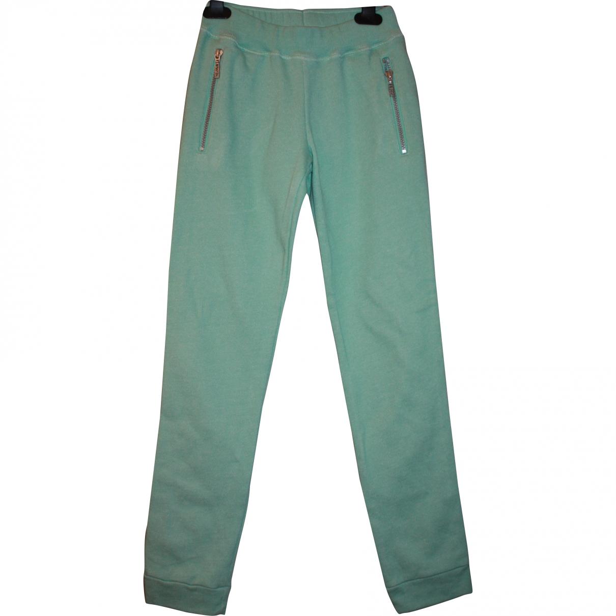 Kenzo - Pantalon   pour enfant en coton - vert