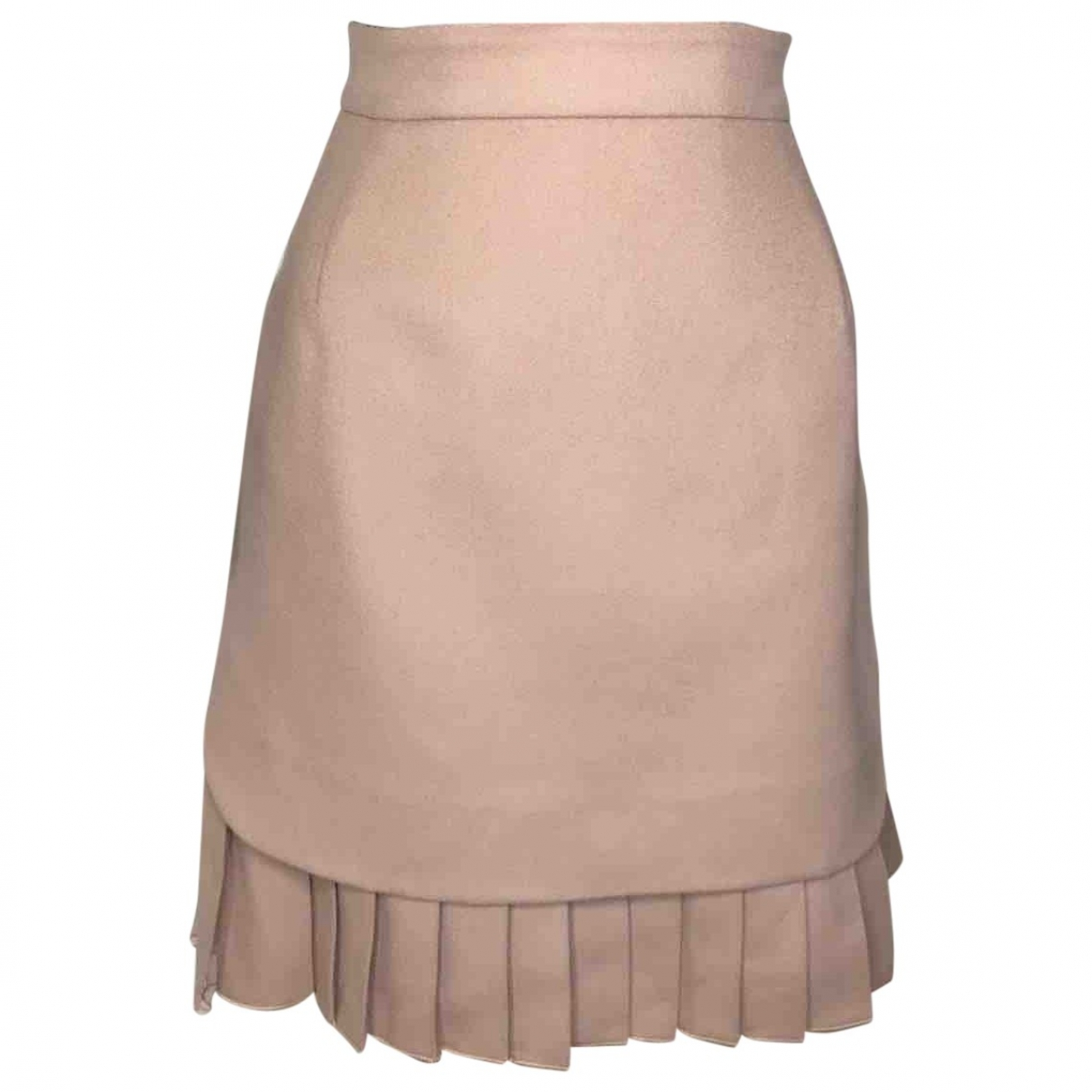 Ermanno Scervino \N Pink Wool skirt for Women 38 IT