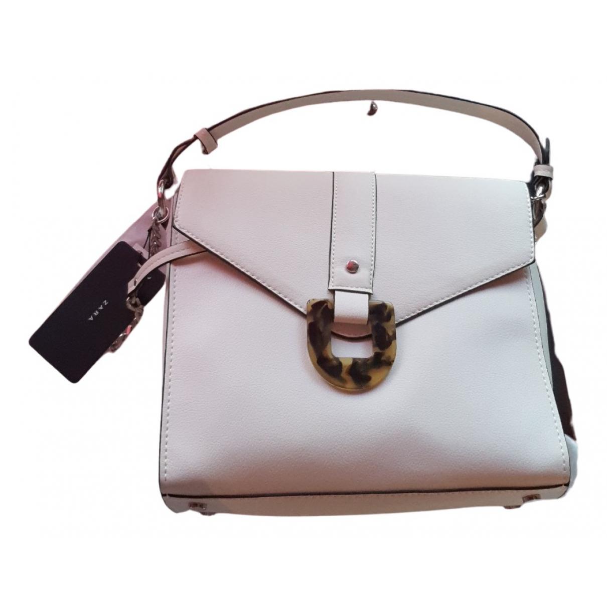 Zara N White Patent leather handbag for Women N