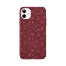 Christmas Leaf iPhone Case