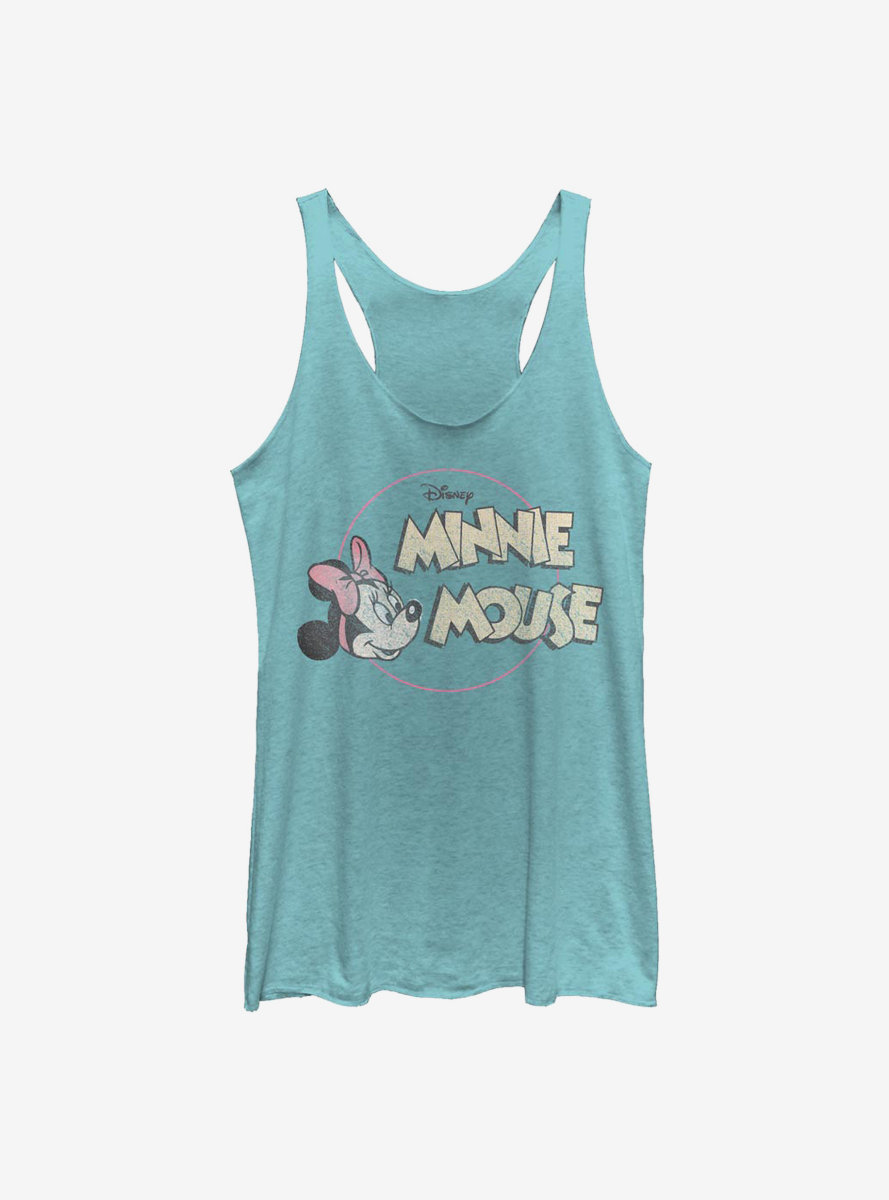 Disney Minnie Mouse Retro Minnie Womens Tank Top