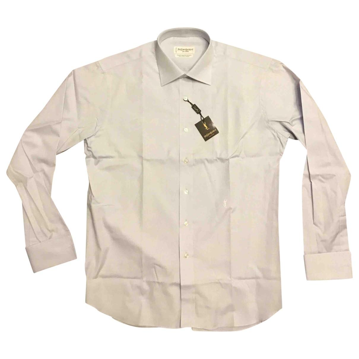 Yves Saint Laurent - Chemises   pour homme en coton