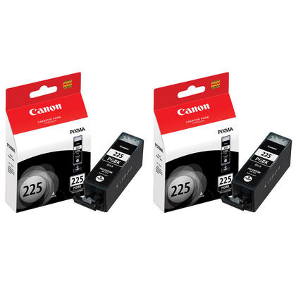 Canon PIXMA MG8120 Original Pigment Black Ink Cartridge, Twin Pack