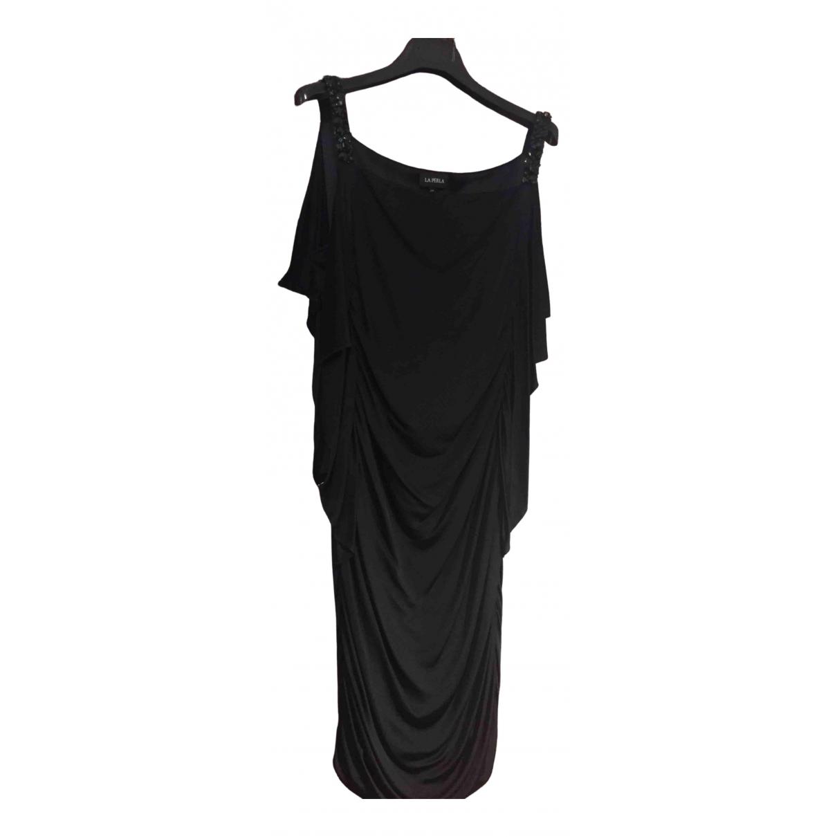 La Perla - Robe   pour femme en a paillettes - noir