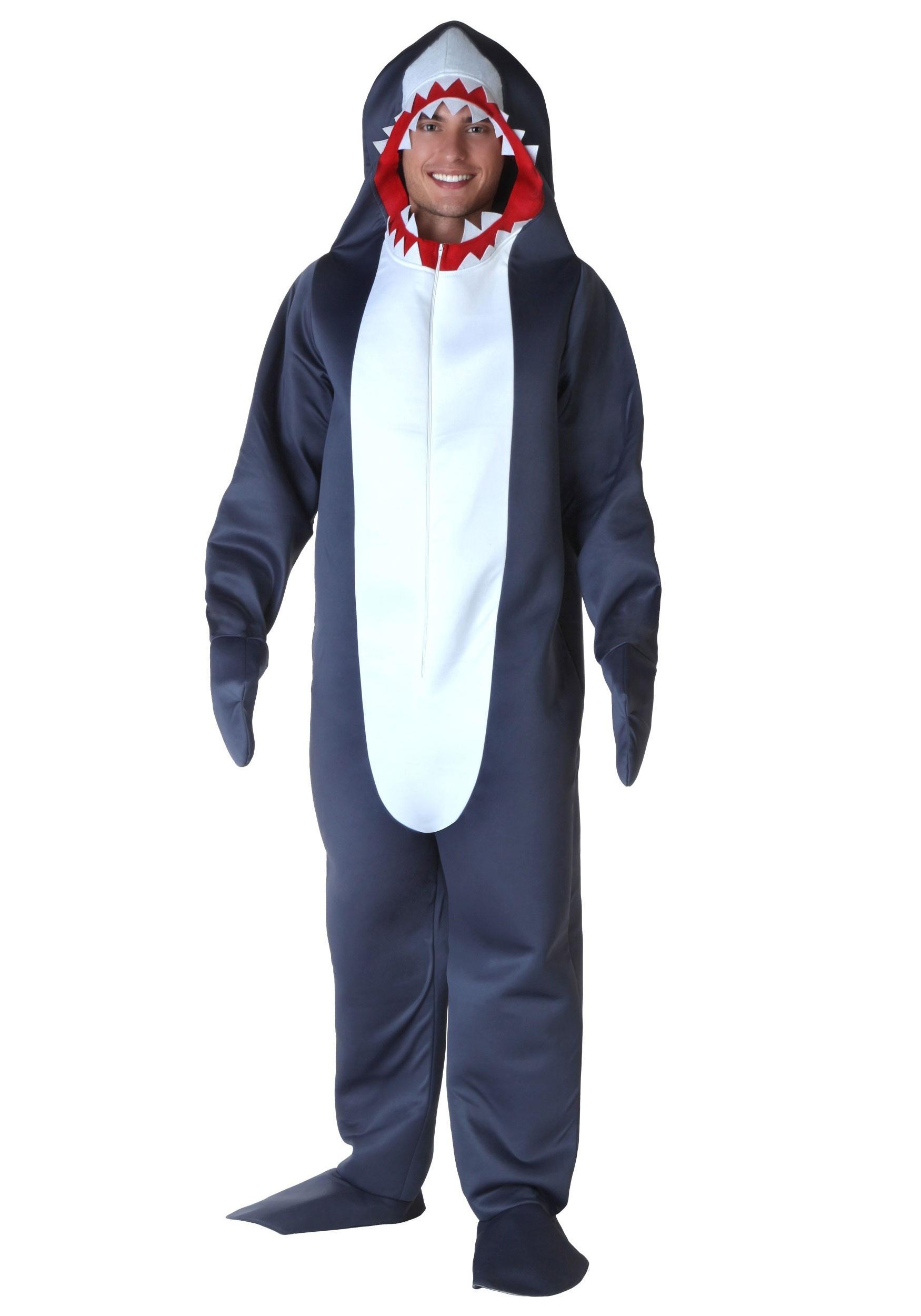 Plus Size Shark Costume 2X