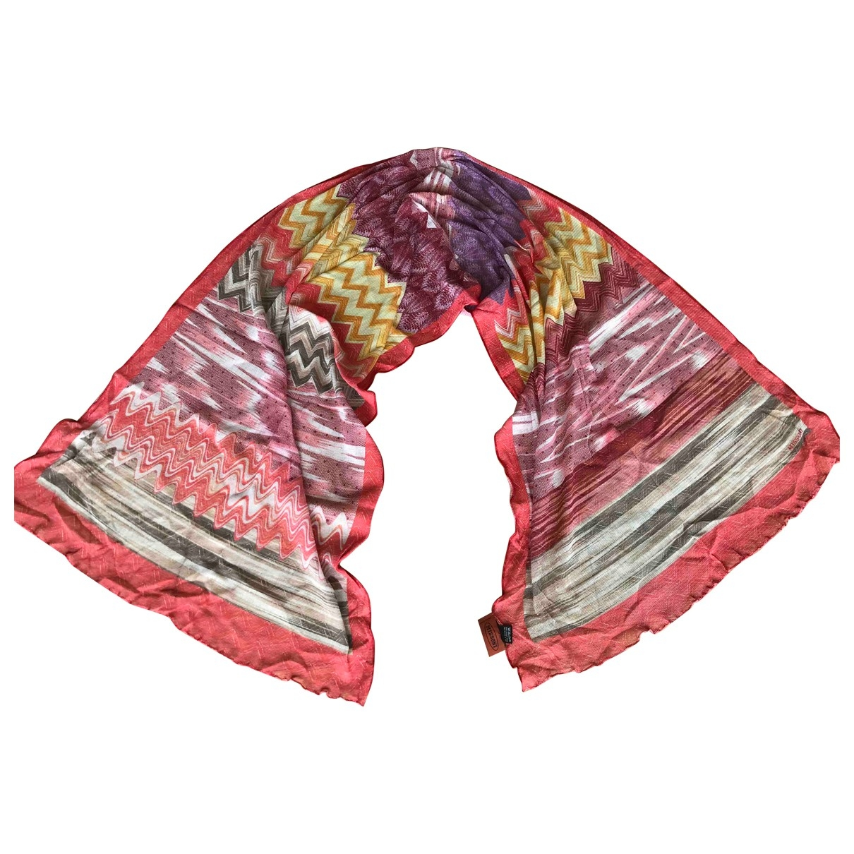 Missoni \N Multicolour Cotton scarf for Women \N