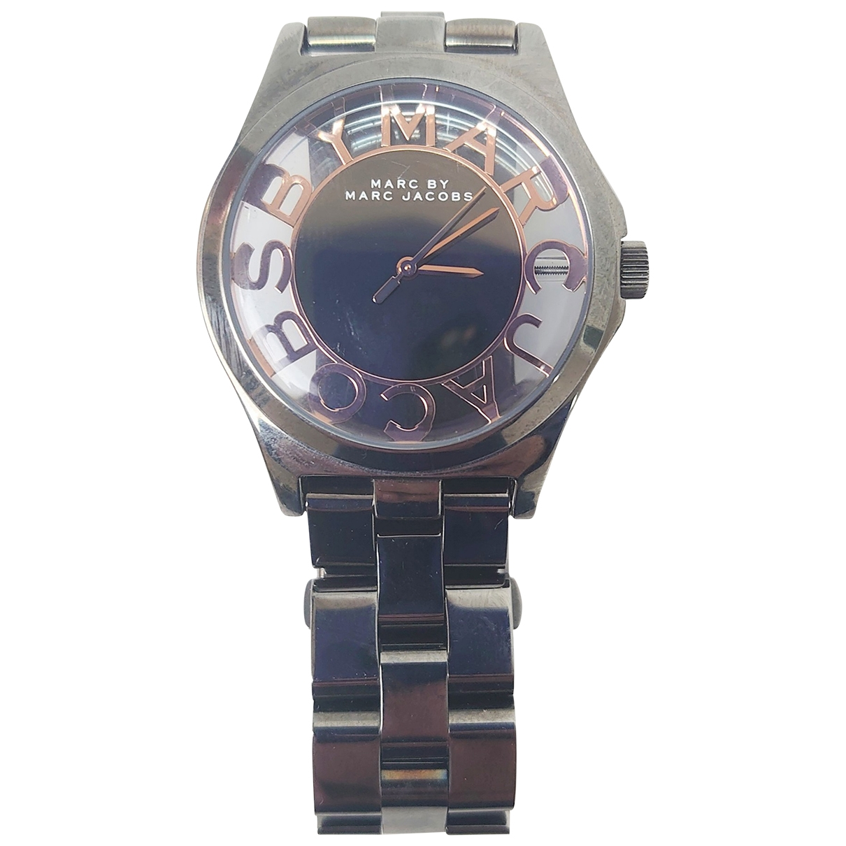 Marc By Marc Jacobs \N Uhr in Stahl