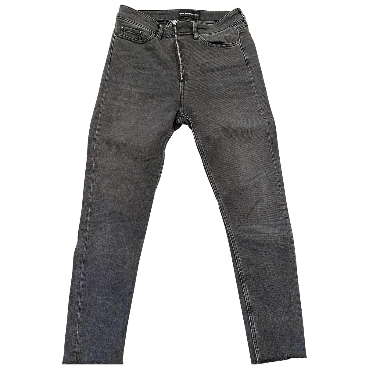 The Kooples \N Grey Denim - Jeans Jeans for Women 38 FR