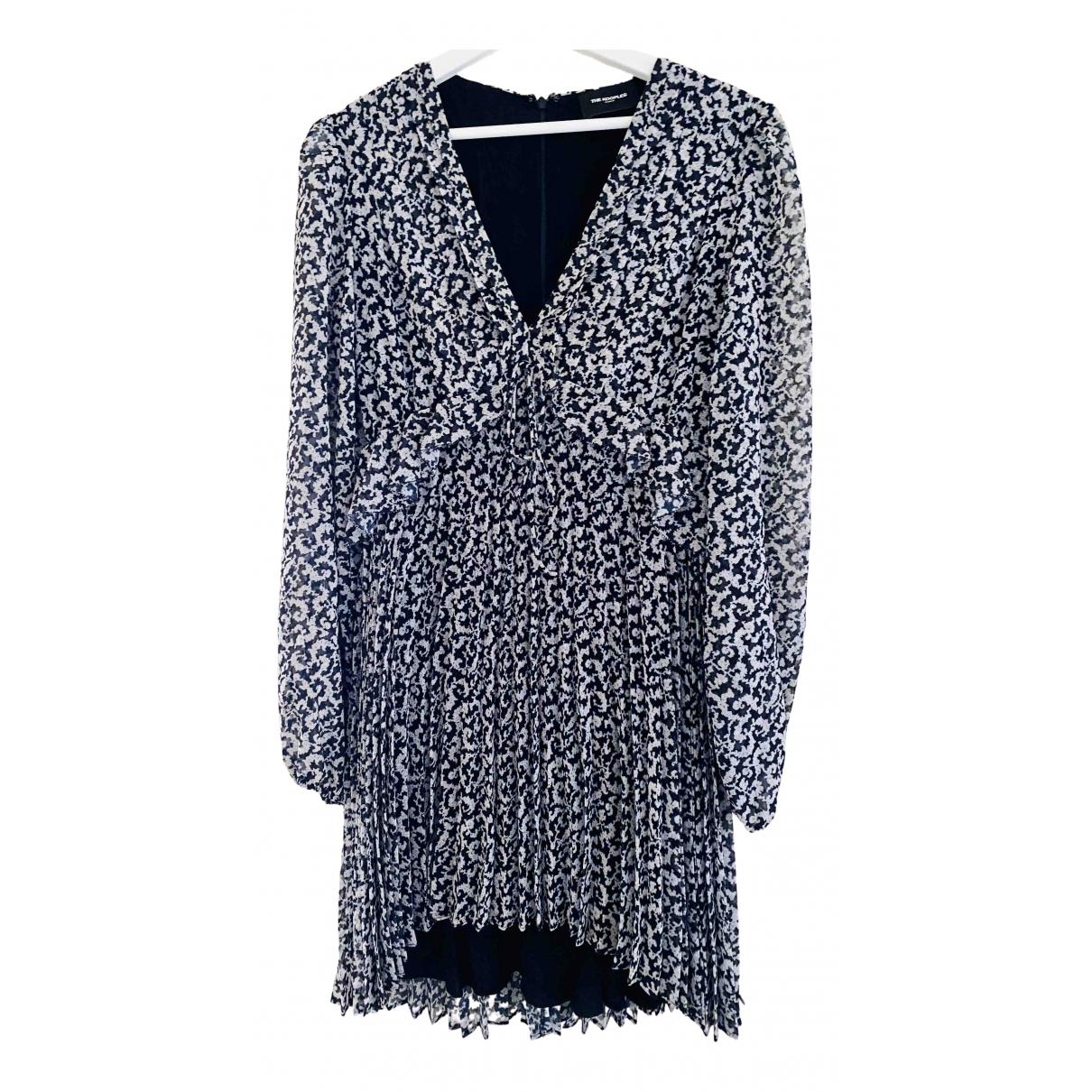 The Kooples Fall Winter 2019 Kleid in  Blau Polyester