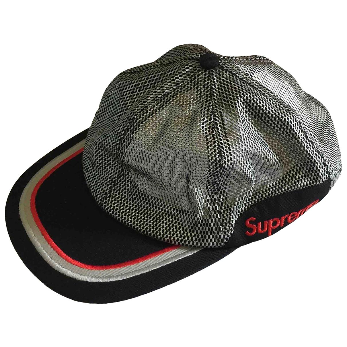 Supreme \N Hut, Muetzen in  Silber Polyester