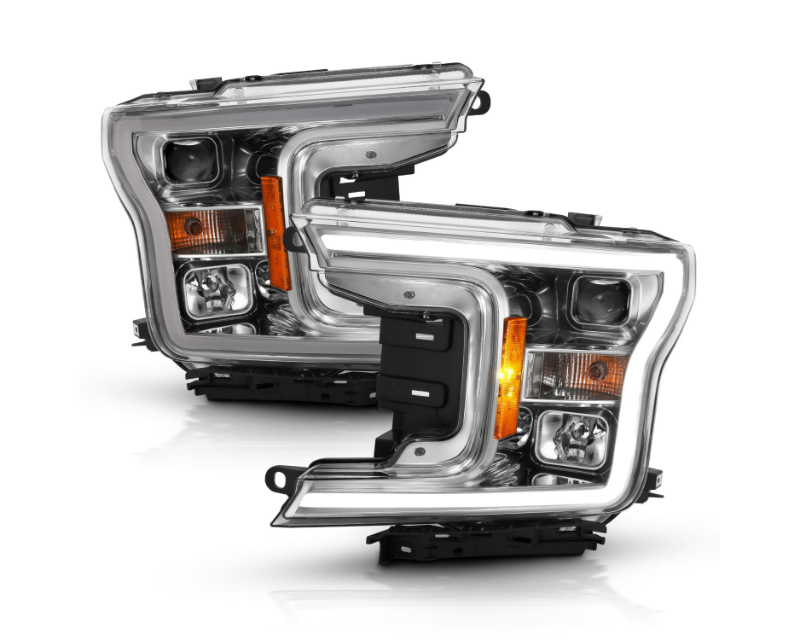 Anzo USA Projector Headlight Set w/Halo Ford