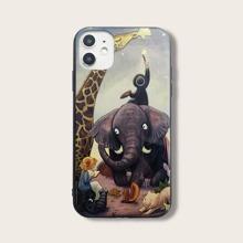 iPhone Schutzhuelle mit Tier Muster