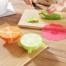 5pcs Silicone Food Fresh Cover