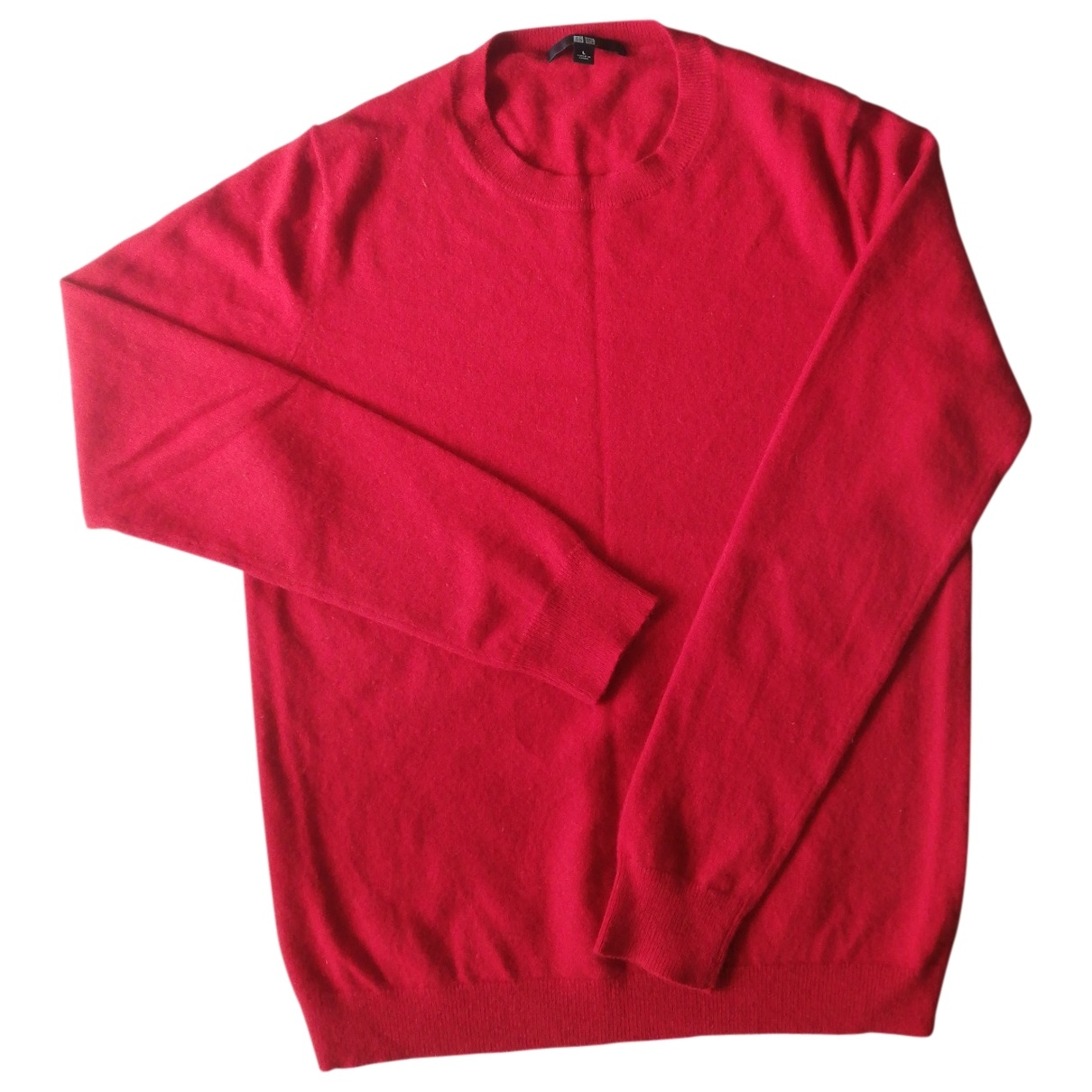 Uniqlo \N Red Cashmere Knitwear for Women 38 FR