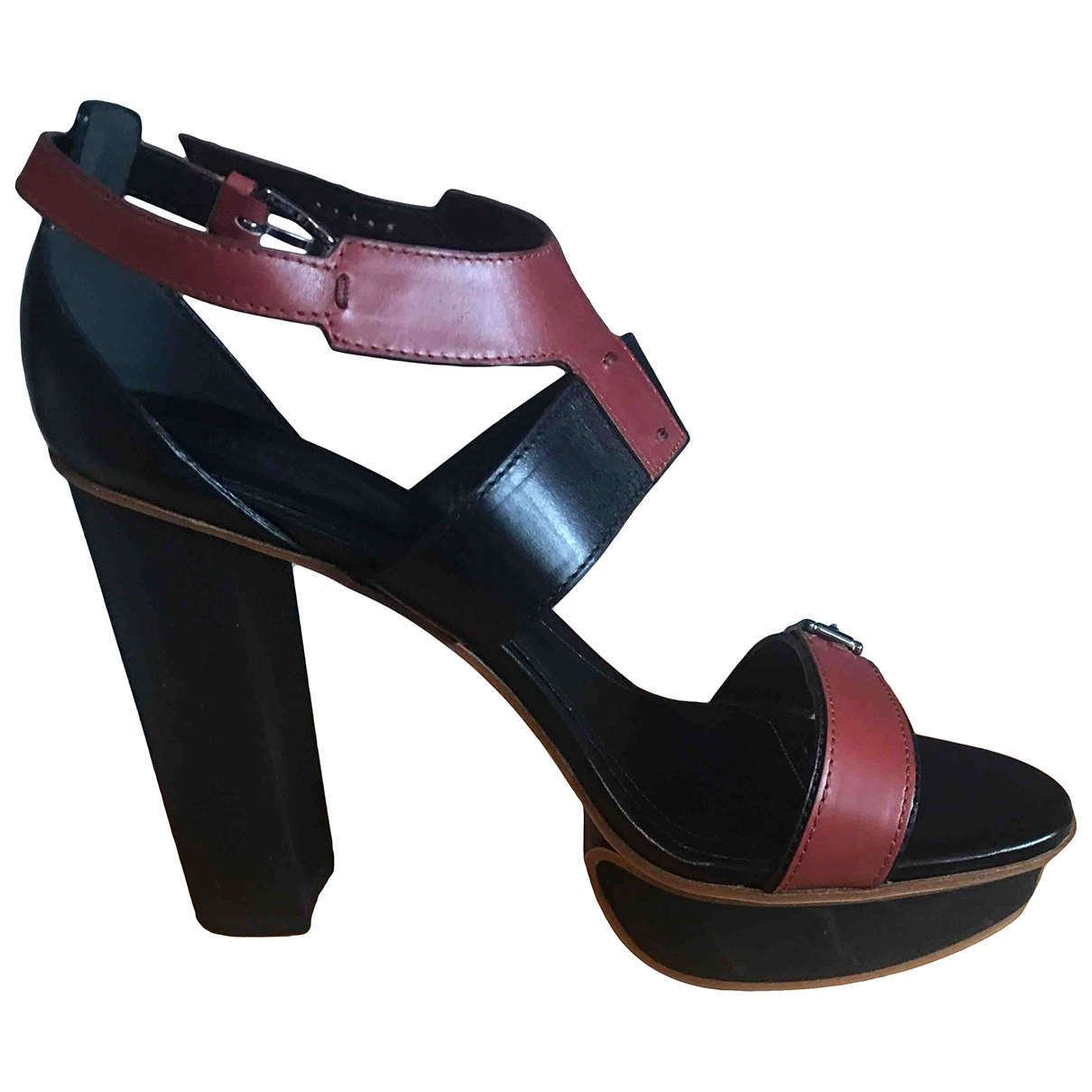 Tod's \N Black Leather Sandals for Women 40 EU