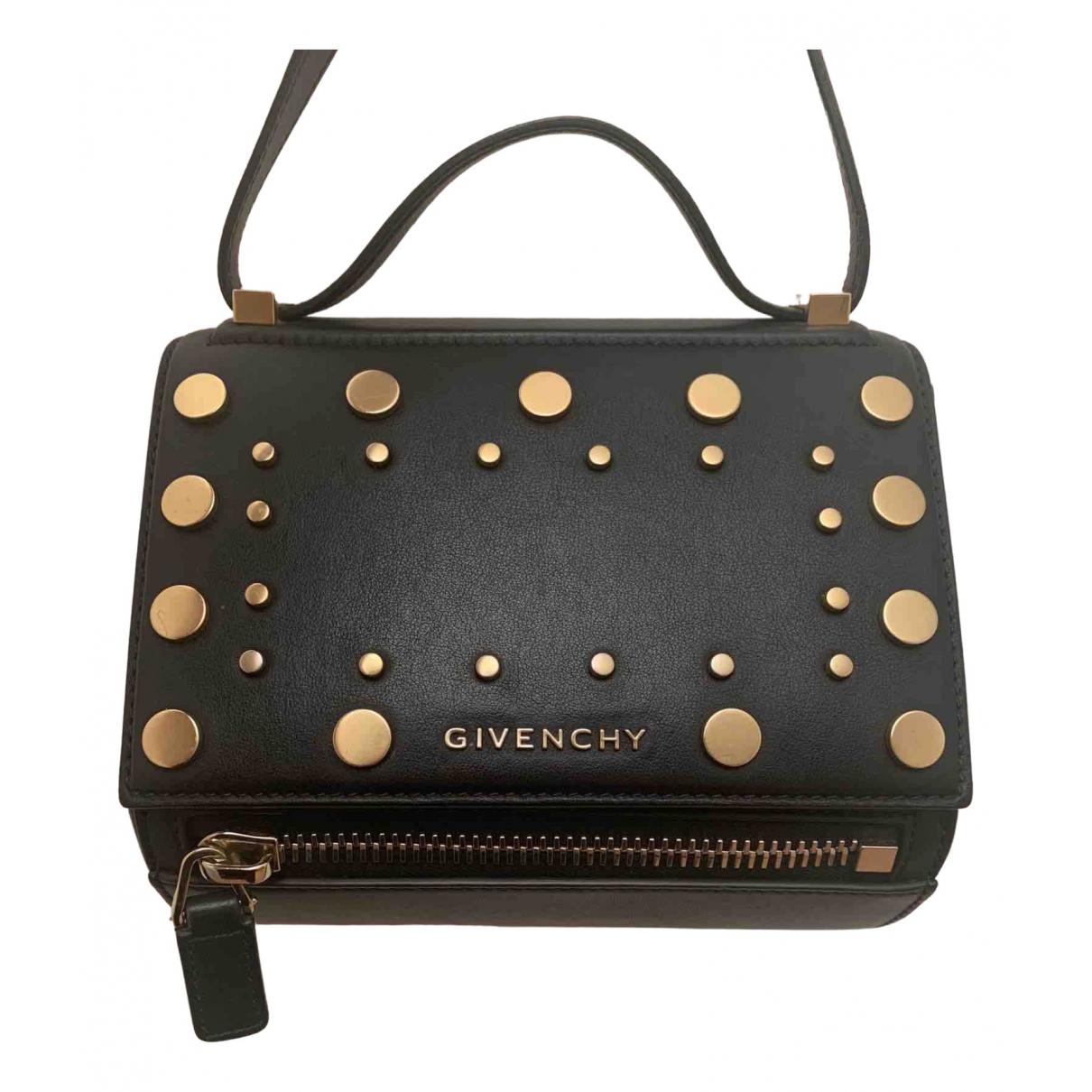 Givenchy - Sac a main Pandora Box pour femme en cuir - noir