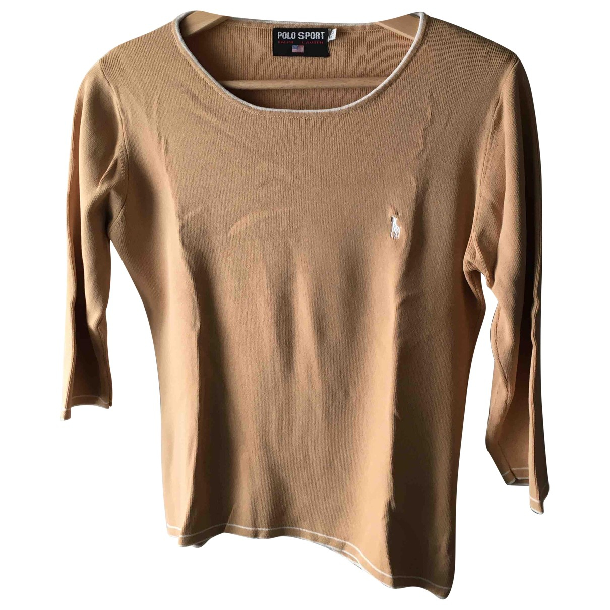 Polo Ralph Lauren \N Beige Knitwear for Women 36 FR