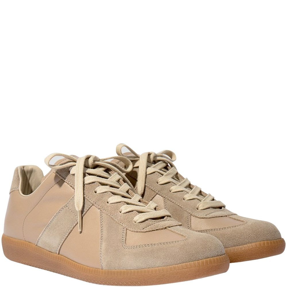 Maison Margiela Replica Sneakers Beige Colour: BEIGE, Size: 7