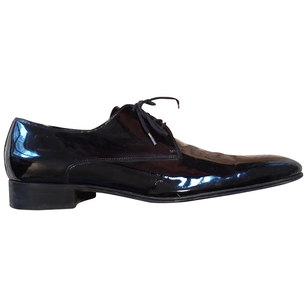Dior - Derbies   pour homme en cuir - noir