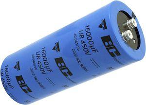 Vishay 4700μF Electrolytic Capacitor 400V dc, Screw Mount - MAL250136472E3 (12)