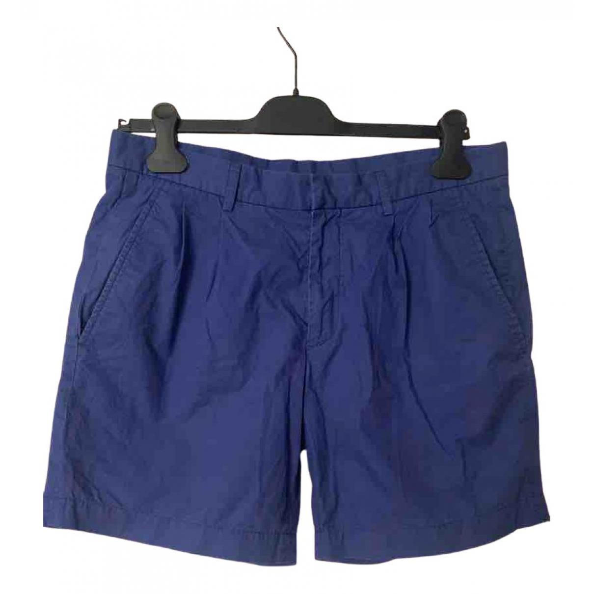 Jil Sander \N Shorts in  Blau Baumwolle