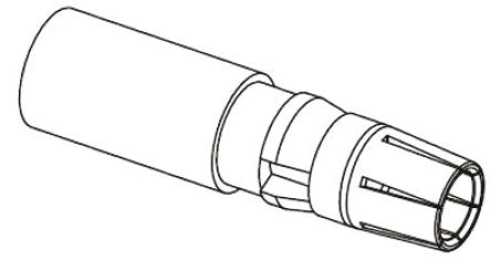 HARTING 09 03 Series Straight Female Copper Alloy DIN Connector Contact