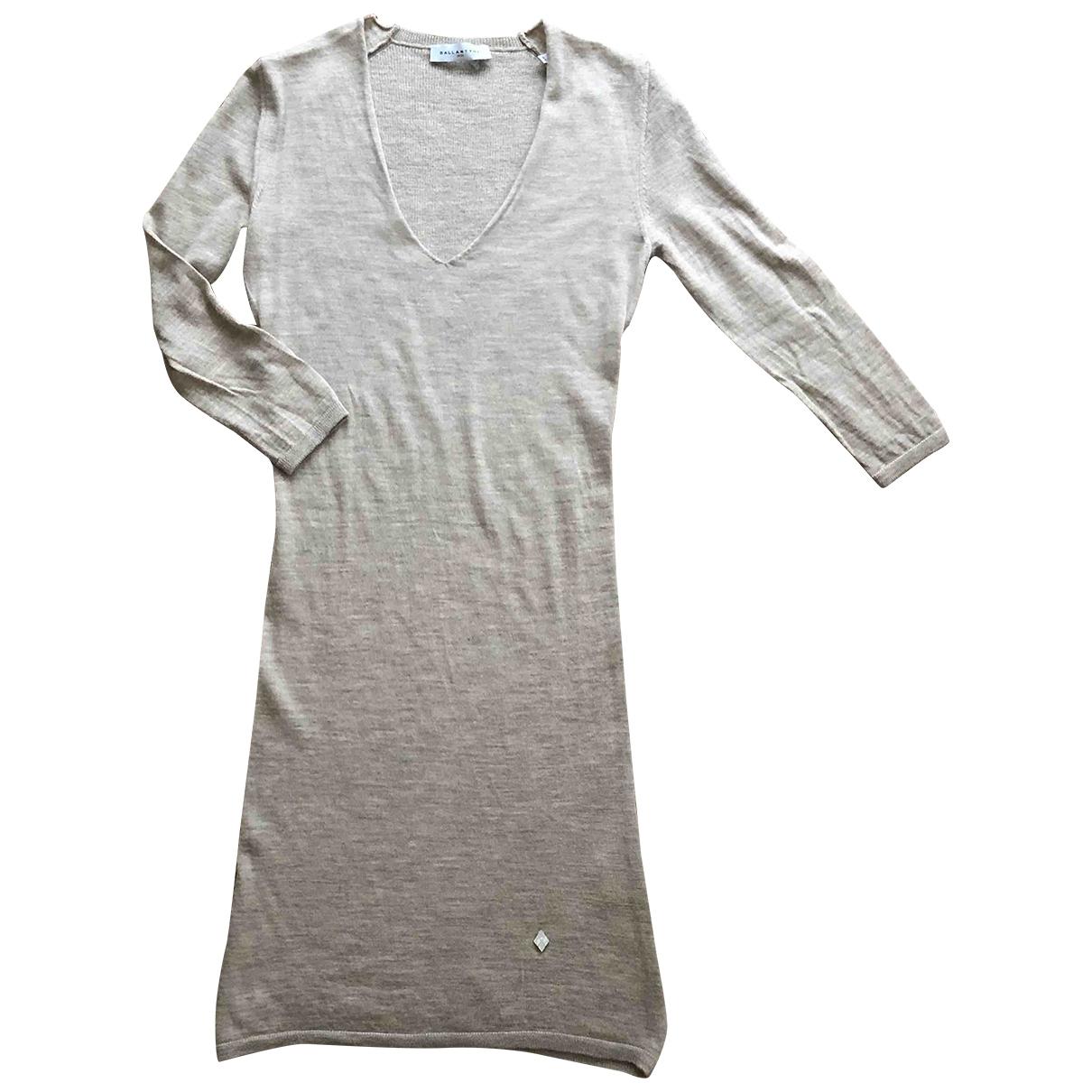 Ballantyne - Robe   pour femme en laine - beige