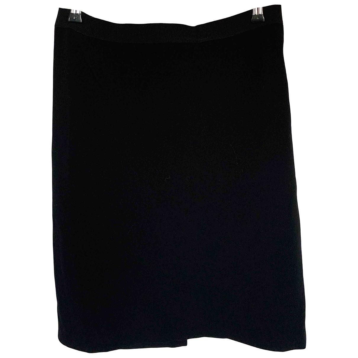 Jean Paul Gaultier \N Rocke in  Schwarz Wolle