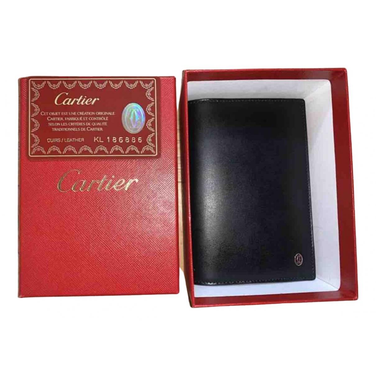 Cartier - Objets & Deco   pour lifestyle en cuir - noir