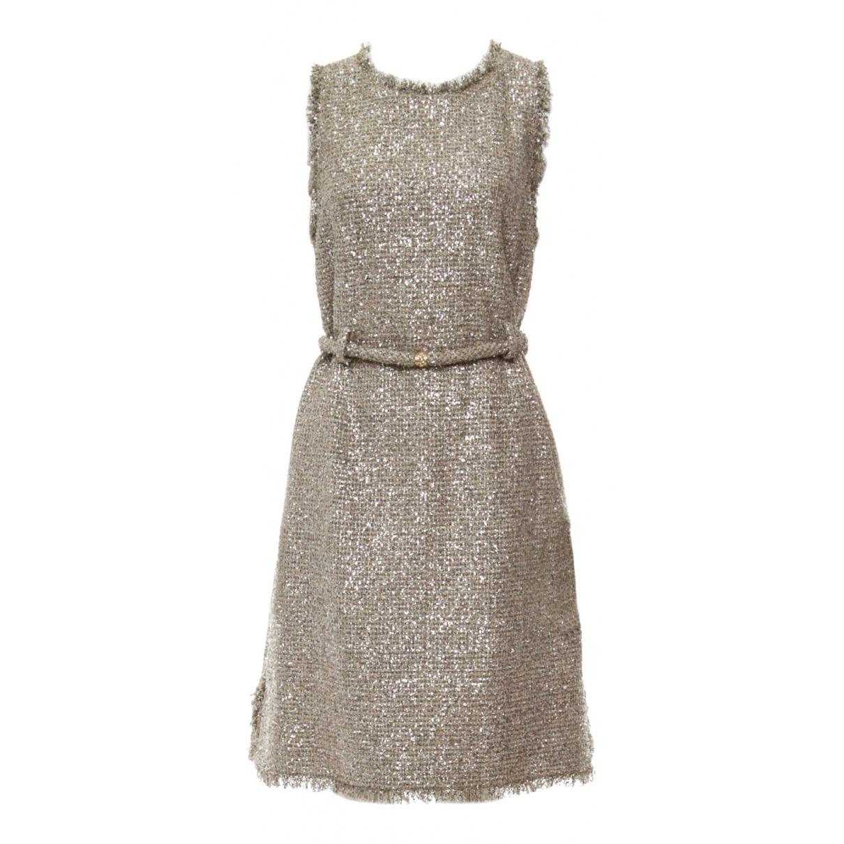 Chanel \N Kleid in  Metallic Tweed