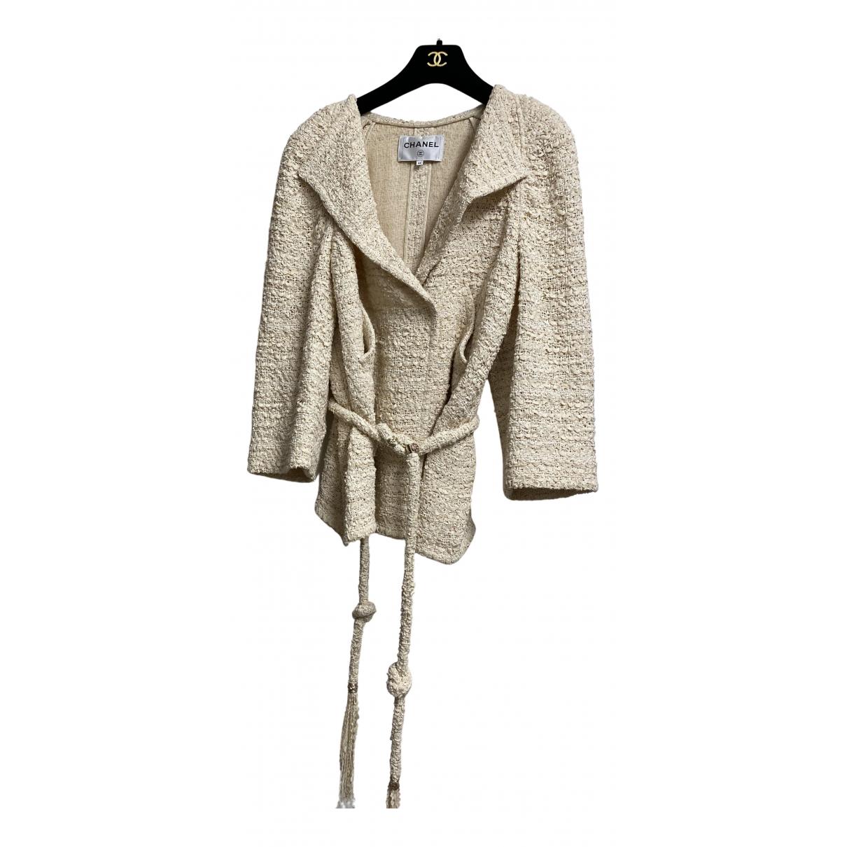 Chanel \N Jacke in  Beige Baumwolle