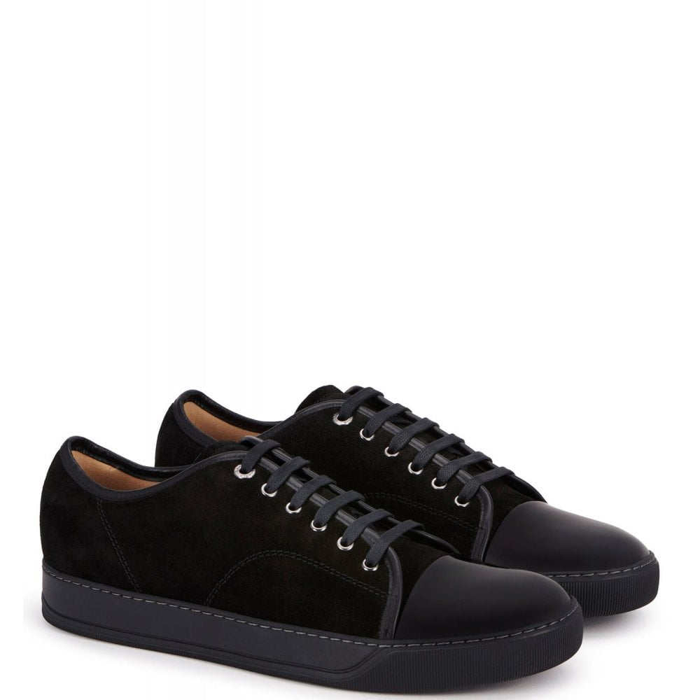 Lanvin Low Top Sneakers Colour: BLUE, Size: 9