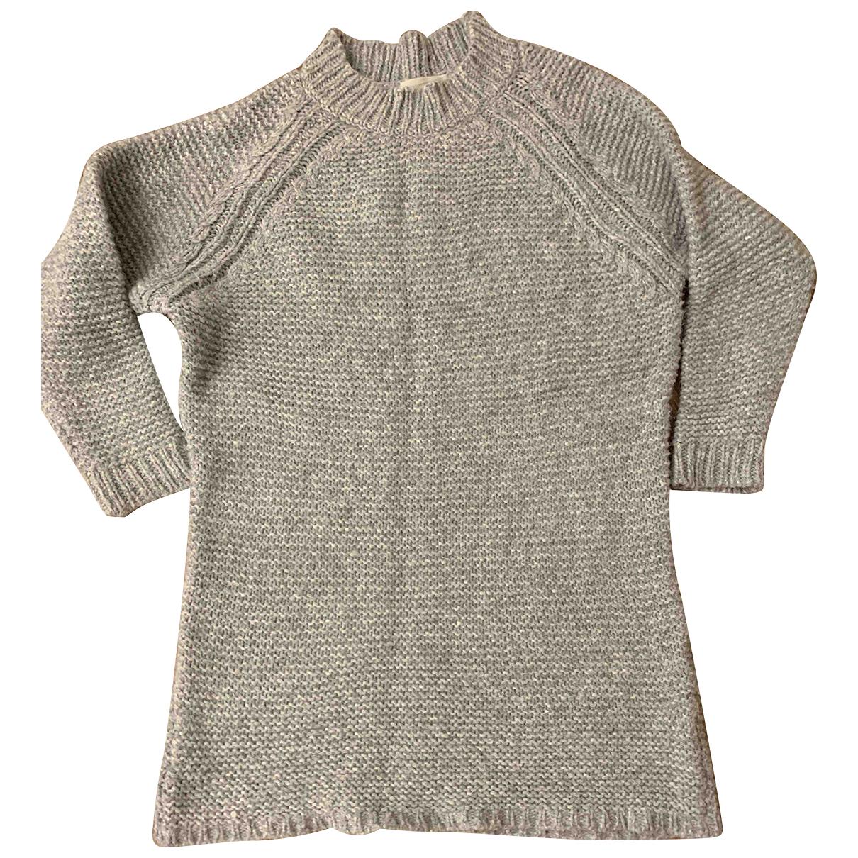 Humanoid \N Pullover in  Grau Wolle