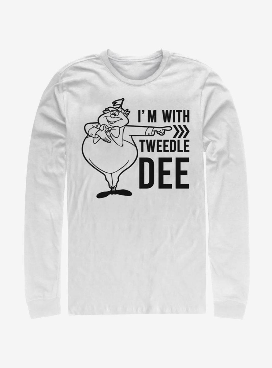 Disney Alice In Wonderland Tweedle Dee Dum Dee Long-Sleeve T-Shirt
