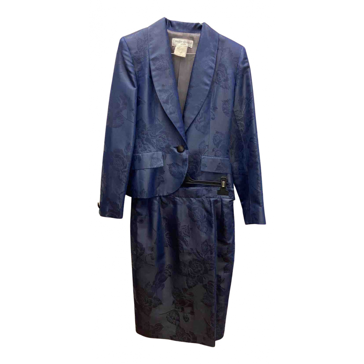 Yves Saint Laurent N Blue jacket for Women 38 FR