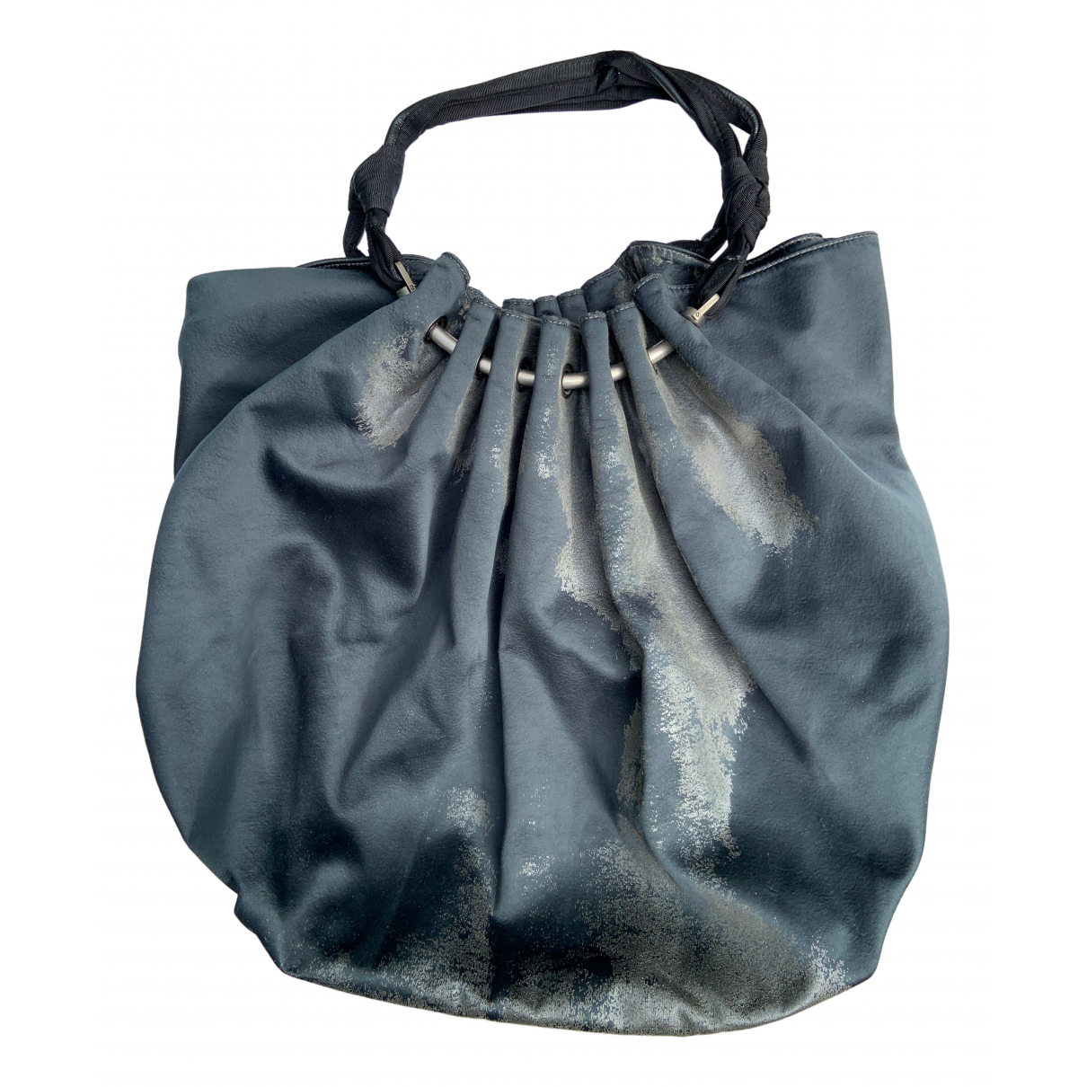 Lanvin N Anthracite Silk handbag for Women N